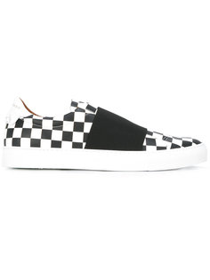 checkerboard slip-on trainers Givenchy