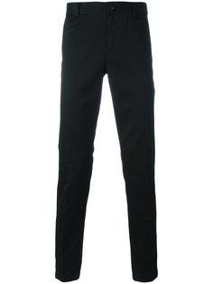 брюки с вышивкой звезд Givenchy