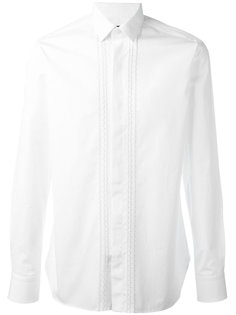 рубашка с вышивкой Lanvin