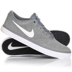 Кеды кроссовки низкие Nike Sb Check Solar Cool Grey