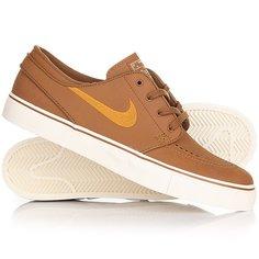 Кеды кроссовки низкие Nike Zoom Stefan Janoski L Ale Brown
