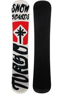 Сноуборд Turbo-FB Turbo Snowboards Logo 2 White/Red/Black