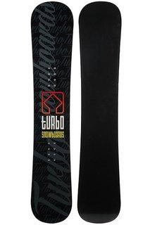 Сноуборд Turbo-FB Turbo Snowboards Logo Black/Green