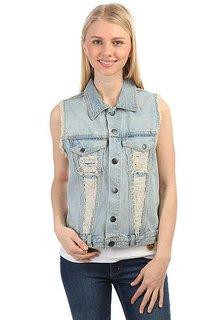 Жилетка женская Volcom High Strung Vest Vintage Blue