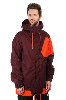 Куртка утепленная Volcom Isosceles Jacket Burgundy
