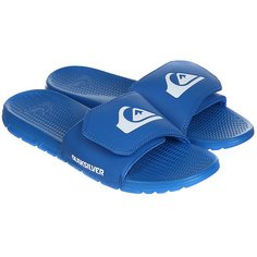 Шлепанцы Quiksilver Shoreline Adjus Blue