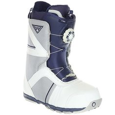 Ботинки для сноуборда Burton Tyro White Gray Blue
