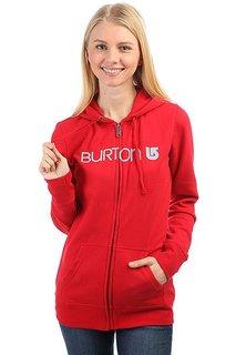 Толстовка классическая женская Burton Her Logo Cardinal