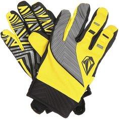 Перчатки сноубордические Volcom Atlantic Pipe Glove Yellow