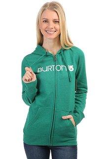 Толстовка классическая женская Burton Her Logo Fz Heather Ultramarine