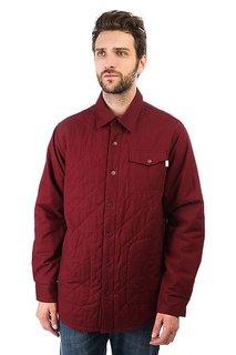 Рубашка утепленная Burton Mb Bellow Flannel Sangria