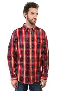 Рубашка Burton Mns Fletcher Wvn Cardinal Dobby
