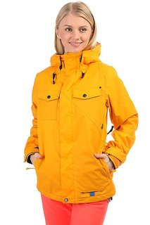 Куртка утепленная женская Volcom Genera Insulated Jacket Orange Burst