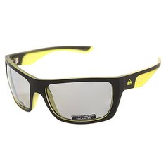 Очки Quiksilver Hideout Plz Pc Matte Black-yellow/P