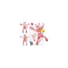 """Набор для изготовления  игрушки """"Кошечка"""", Перловка"""