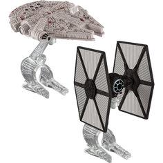 Набор из 2-х Звездных кораблей Star Wars, Hot Wheels Mattel