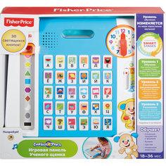 Обучающая панель Ученого Щенка, серия Смейся и учись, Fisher-Price Mattel