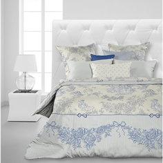 """Комплект постельного белья """"Toile de Jouy"""", 1,5 спальное, (70*70), перкаль, Carte Blanche"""