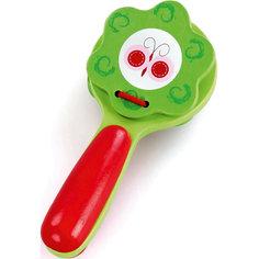 Трещотка, красно-зеленая, Mapacha