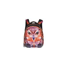 Рюкзак школьный с двумя отделениями для девочки, Grizzly