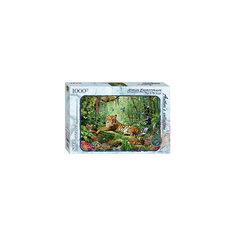 """Пазл """"Тигр в джунглях"""" (Авторская коллекция), 1000 деталей, Step Puzzle"""