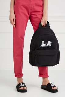 Хлопковый рюкзак Silver LA Joshua Sanders