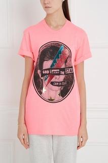 Хлопковая футболка The Star Nil&Mon