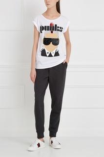 Хлопковая футболка The Punks Nil&Mon