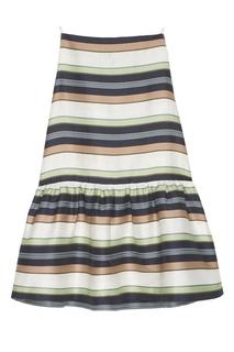 Платье в полоску Jil Sander Navy