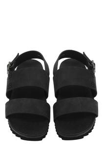 Замшевые сандалии Bonpoint