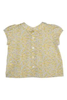 Хлопковая блузка Bonpoint