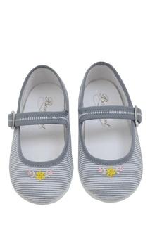 Хлопковые туфли Bonpoint