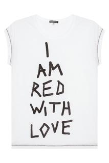 Хлопковая футболка Ann Demeulemeester