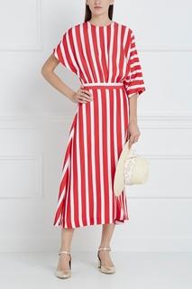 Платье в полоску Msgm