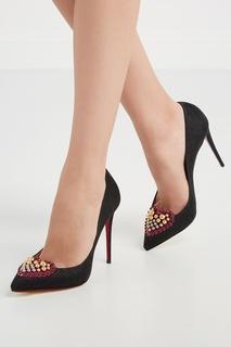 Замшевые туфли Coralta Mia 100 Christian Louboutin