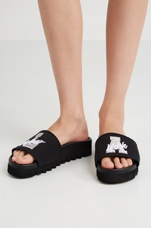 Хлопковые сандалии Lurex Silver Joshua Sanders
