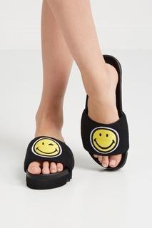 Хлопковые сандалии Black Smile Joshua Sanders