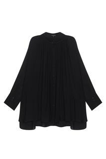 Однотонная блузка Ann Demeulemeester