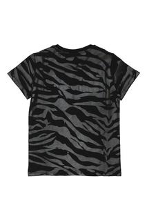 Хлопковая футболка Kenzo Kids