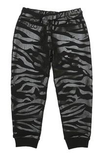 Хлопковые брюки Kenzo Kids