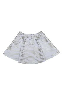 Хлопковая юбка Kenzo Kids