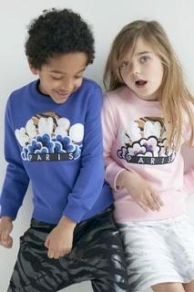 Хлопковый свитшот Kenzo Kids