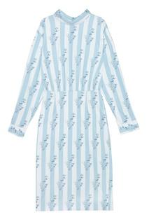 Хлопковое платье A LA Russe