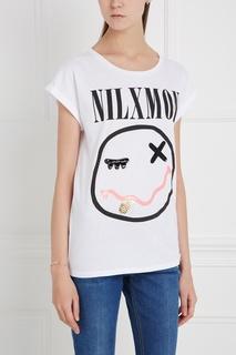 Хлопковая футболка Nil X Mon Nil&Mon