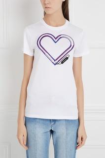 Хлопковая футболка Carven