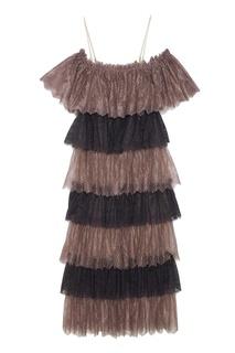 Кружевное платье A LA Russe