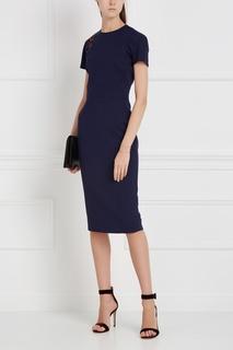 Платье с вышивкой Victoria Beckham