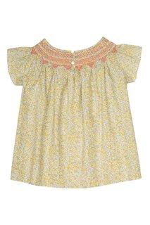 Хлопковая блузка Ella Bonpoint