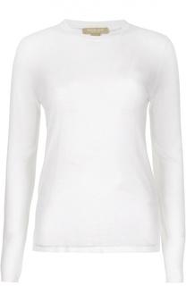Приталенная полупрозрачная футболка с длинным рукавом Michael Kors