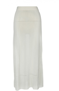 Полупрозрачная юбка-макси Calvin Klein Collection